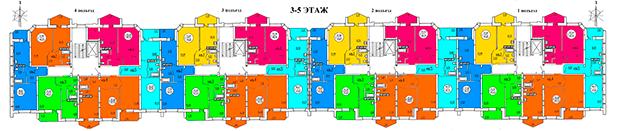 3-4-5 Этажи