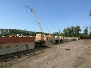Ход строительства ЖК Ключ г.Магнитогорск, Август 2017