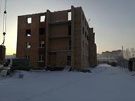 Ход строительства ЖК Ключ г.Магнитогорск, Декабрь 2017