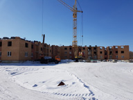 Ход строительства ЖК Ключ г.Магнитогорск, Март 2018