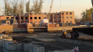Ход строительства ЖК Ключ г.Магнитогорск, Октябрь 2017