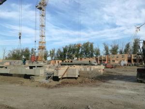 Ход строительства ЖК Ключ г.Магнитогорск, Сентябрь 2017